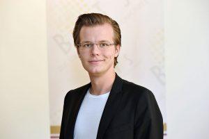 Vorstand Lucas Maserski im Interviewy